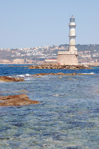 Charnia (Crete) lighthouse