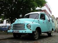 Old Opel van