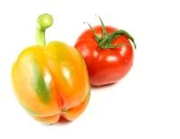 pepper and tomato