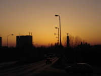 Warm Cityscape
