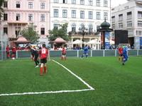 Young footballers in Bratislava city 4