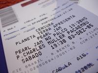 ticket Pearl Jam