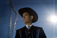 Cowboy Groom with hat! 5