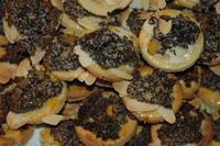 orange-poppyseed cookies