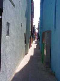 Back street on an island in Ve