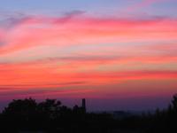 sunset in Lodz 4