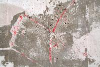 Concrete decay texture