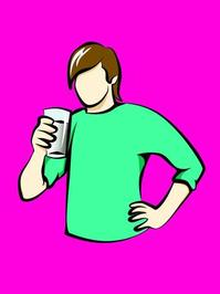 Drinking Milk 1