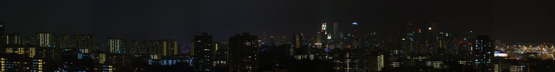 Singapore's Night (Mount Faber