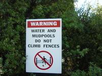 beware the mud