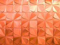 red metal trefoil texture