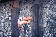 doll on tracks