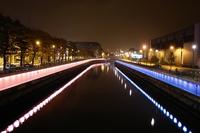By night : Charleroi, Belgium