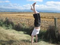 Handstand in New Zealand