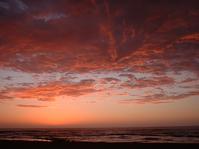 kalahari highway sunset