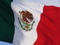 Mexican flag 2 (closeup)