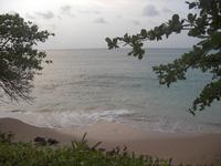 Beach in St. Lucia