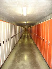 university lockers