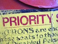 text - priority