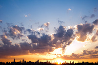 Sunset from Astoria, Queens