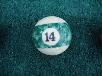 Old Pool Table Balls 14