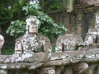 Gate of Angkor Thom 1