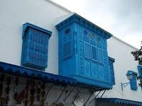 Tunisia: Sidi bu Said Houses 1
