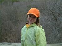 girl poses for shot