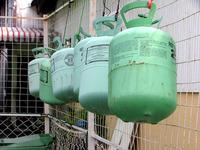 Hanging Gas Tank