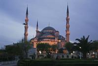 Istanbul night scene