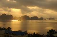 sunrise at Halong