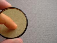 Finger in Filter