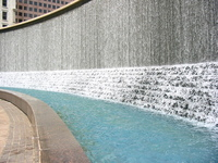 Woodruff Park Waterfall 1