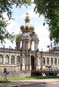 Dresden Zwinger, Crown Gate 1