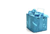 Gift - Blue Box