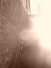 Staircase & Sun