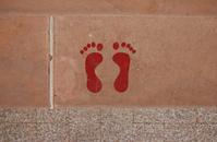 feet prints