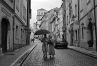 Prague, street scene