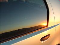 car as a mirror