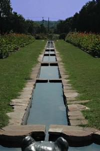 Scenic garden in Keist park 2