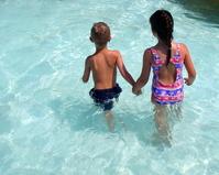 Backs at the Pool