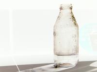 Bottle in negative 1