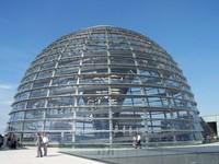 Glaskuppel Reichstag Berlin