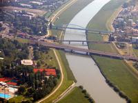 Bridges over Sava river