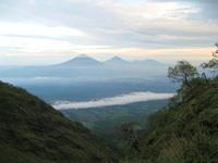 sindoro sumbing mountain