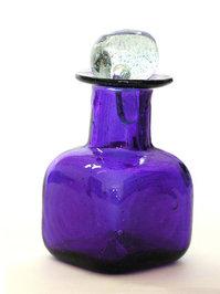 blowed glass bottle