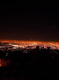 Night Fall over LA