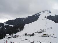 Snow Storm on Mountain