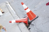 red roadblockers