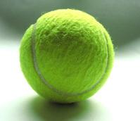 Tennis raquet and ball 1